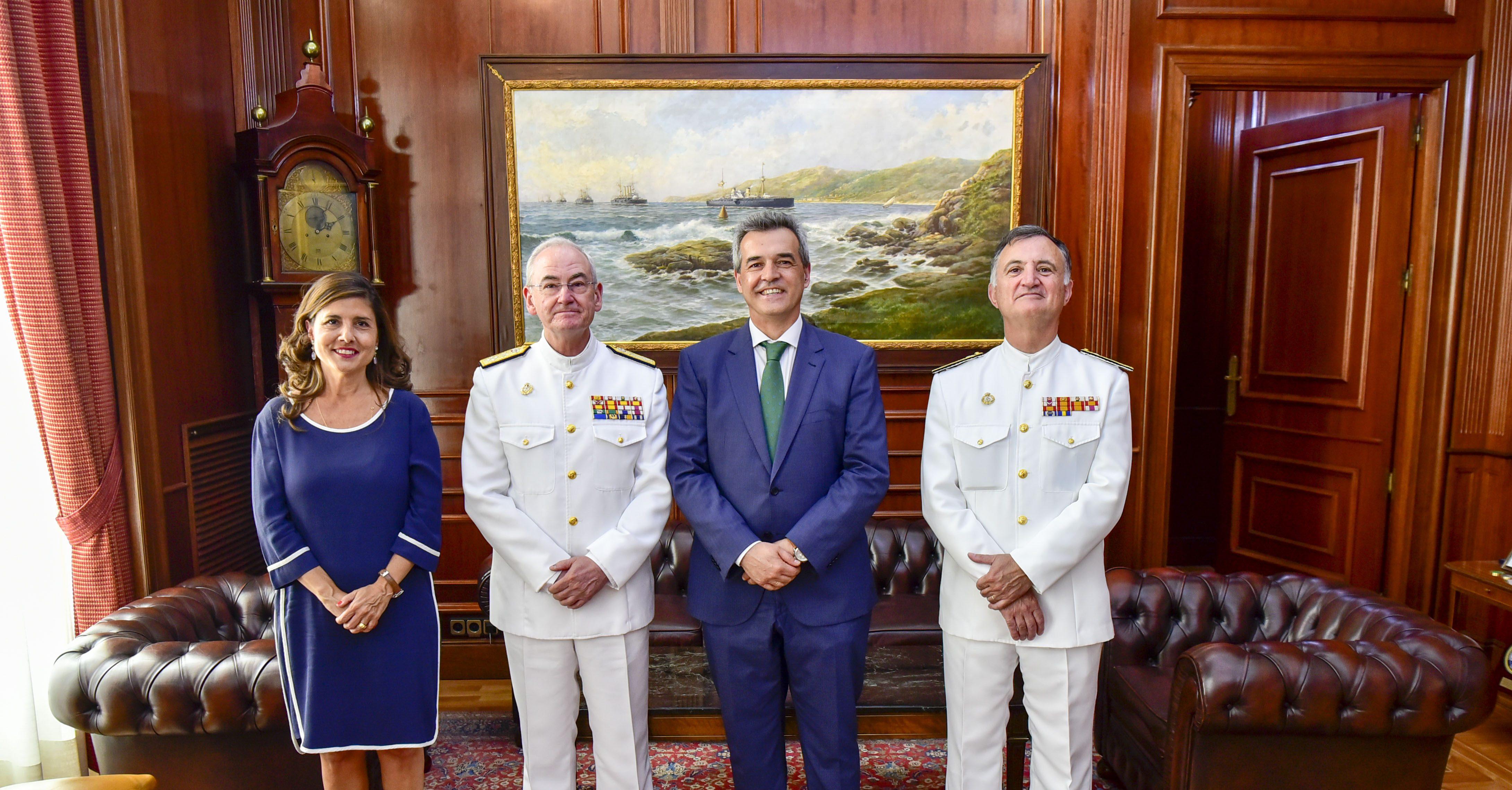 Convenio entre la Armada y el CEU para dar a conocer la hispanidad de la Primera Vuelta al Mundo