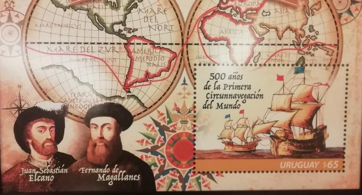 Uruguay, primer hito de la América española en el V Centenario de la expedición Magallanes-Elcano